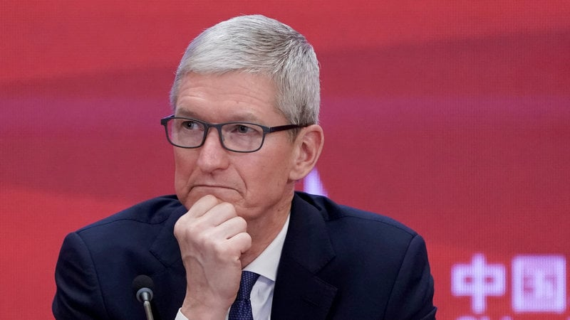 Apple boss Tim Cook says tech regulation is 'inevitable'