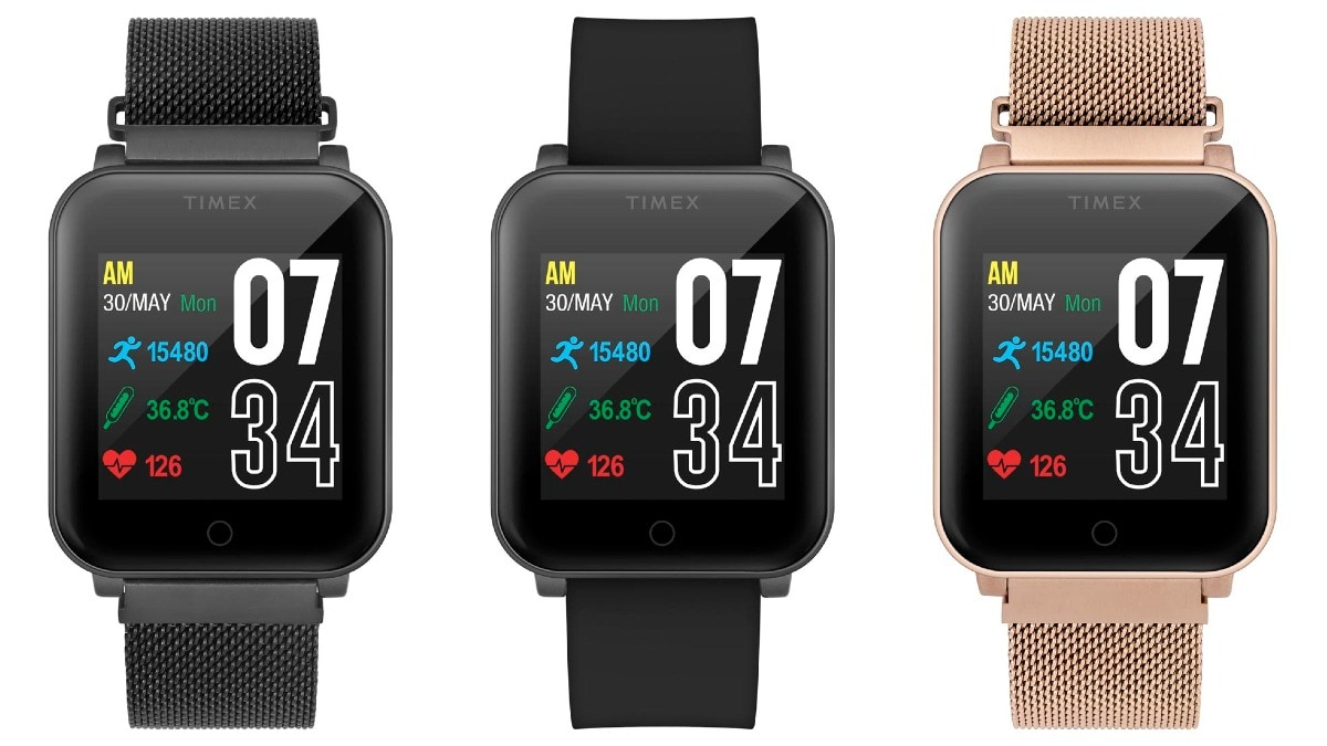 Timex Fit Smartwatch With Telemedicine Feature, Temperature Sensor Launched in India - Gadgets 360