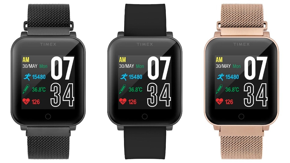 Timex Fit Smartwatch With Telemedicine Feature, Temperature Sensor Launched in India