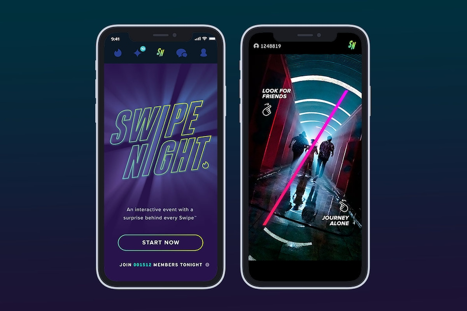 Tinder's Swipe Night Will Find You a Match in the Apocalypse, Starting September 12