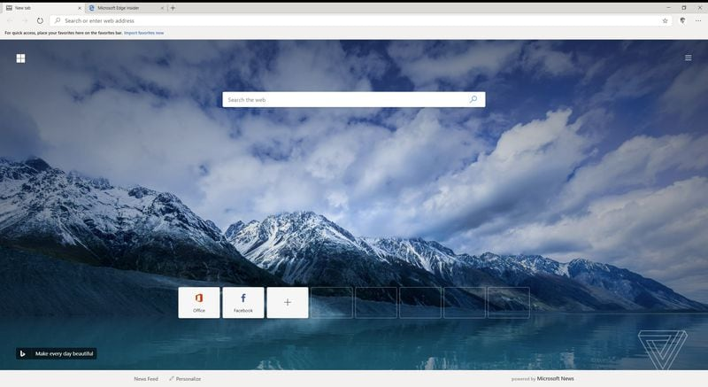 Leaked: first look at Chromium-based Microsoft Edge