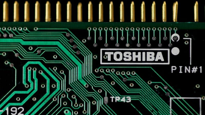 Toshiba Says China Approves Sale of Chip Unit to Bain Consortium