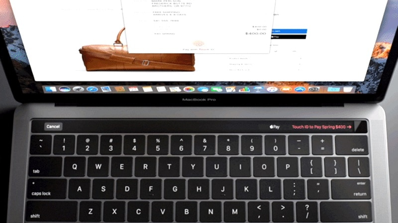 MacBook Pro 2016's Touch Bar Said to Be Controlled by a Secondary ARM Processor