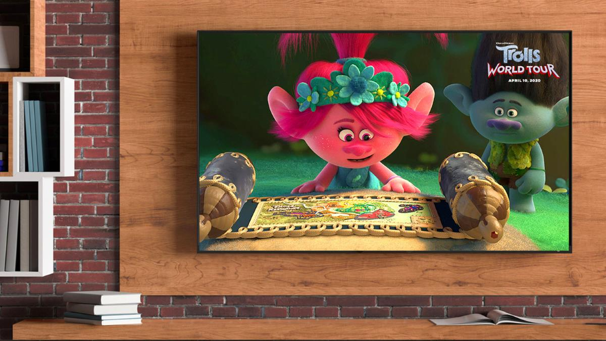 trolls world tour home