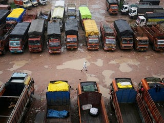 Amazon Deliveries in India Affected by Truckers' Strike