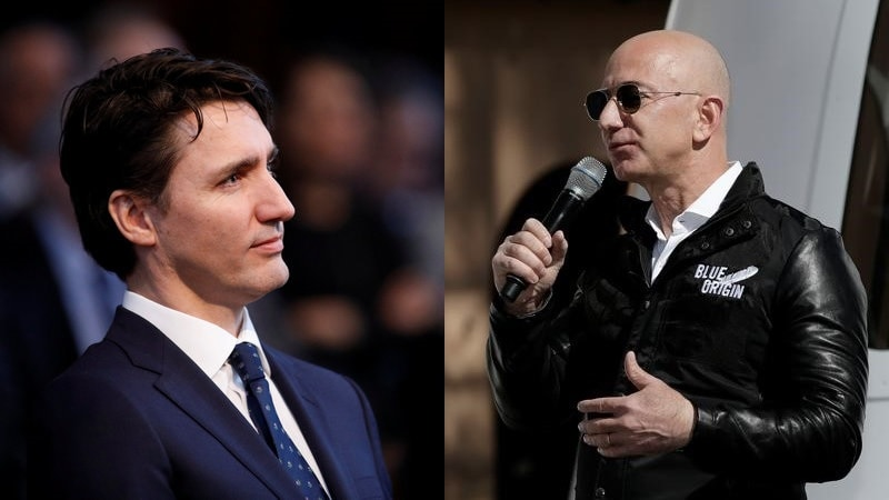 Justin Trudeau Will Meet Amazon CEO Jeff Bezos During US Visit