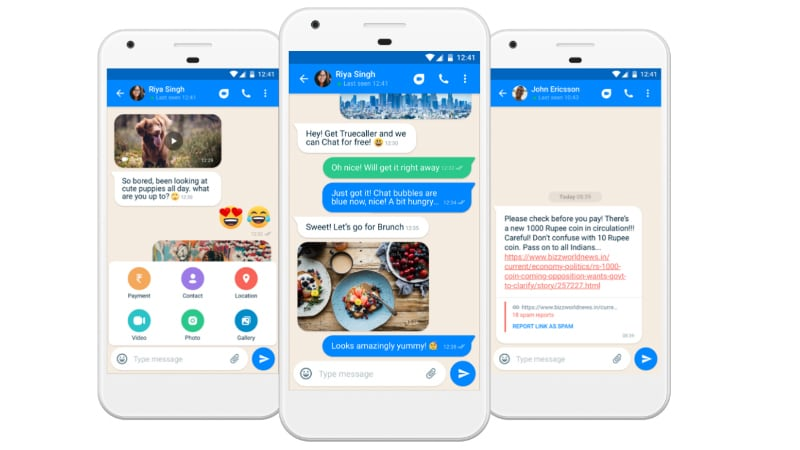 Truecaller Chat With Spam, Fake News Protection Tool Launched for