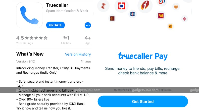 Truecaller Pay UPI-Based Payments Service Arrives for iPhone Users in India