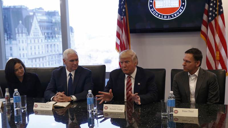 Trump Team Says Twitter Too Small to Be Included in Tech Meeting