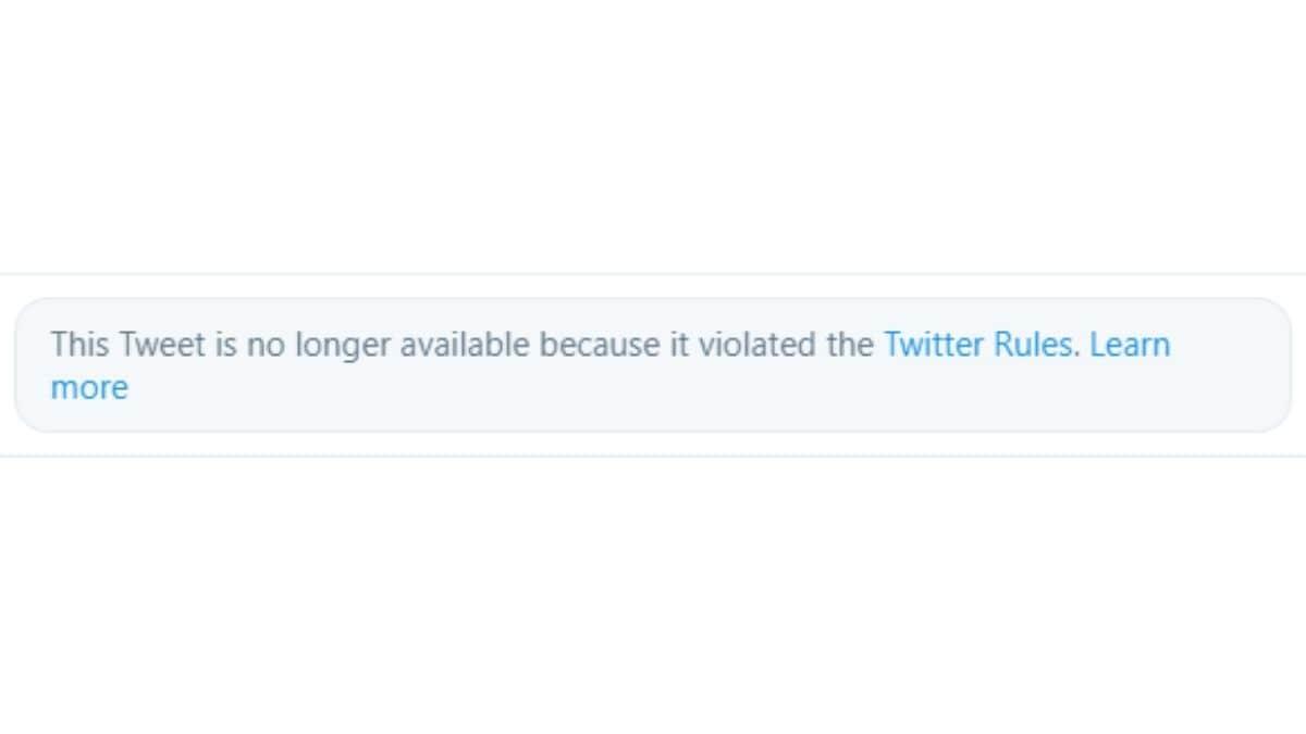 trump tweet pulled warning Donald Trump  Twitter