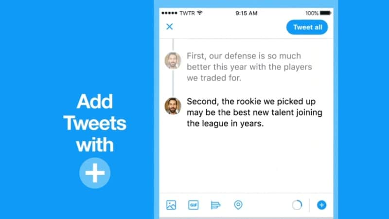 Twitter Threads Unveiled, Lets You Create Tweetstorms With Ease