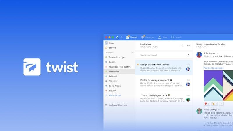 Todoist Maker Launches Twist, a 'Calmer' Team Communication Service