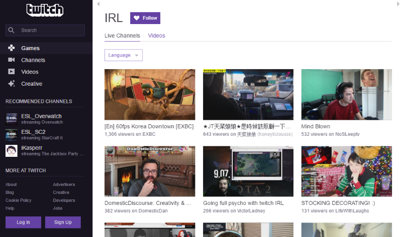 Twitch IRL Launched, Takes on YouTube and Facebook With New Way to 'Life Stream'