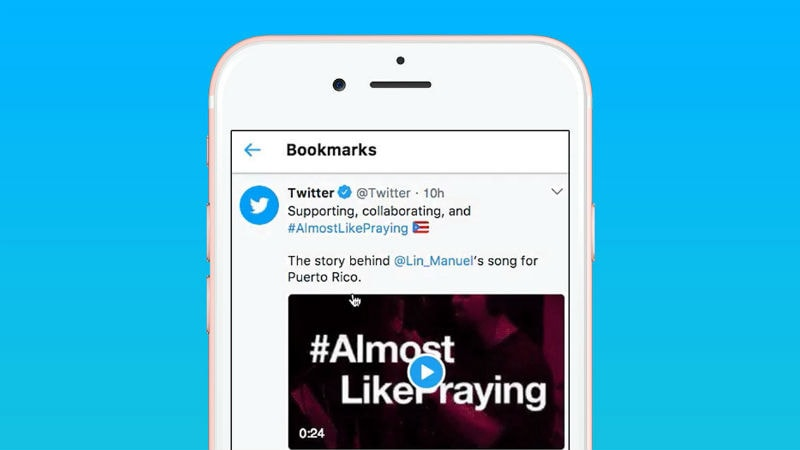 Twitter's Bookmarks Feature Spotted in Android Beta App