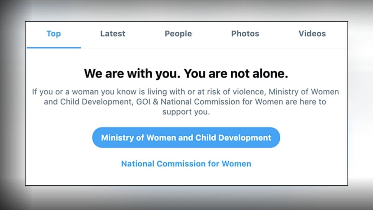 Twitter Adds New Search Prompt to Help Survivors of Domestic Violence in India