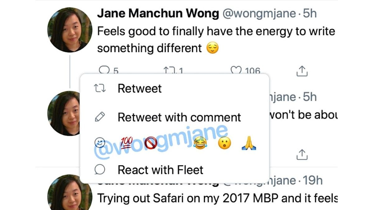 Twitter Testing New Emoji Tweet Reactions, Tipster Claims