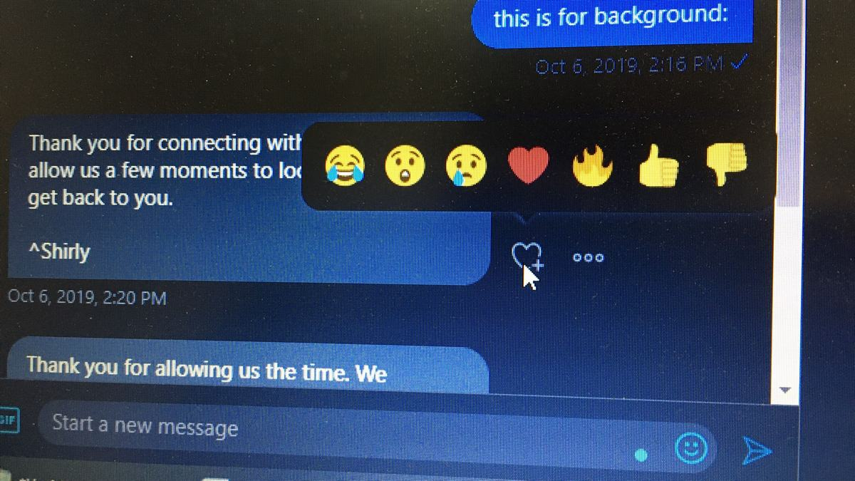 Twitter Direct Messages Get Emoji Reactions Support