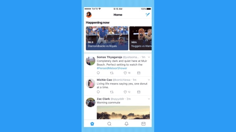 Twitter's New 'Happening Now' Feature Groups Tweet by Events, Topics