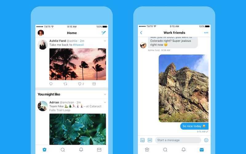 Image result for Twitter Starts Rolling Out New Look for Web, Apps, TweetDeck, and Twitter Lite