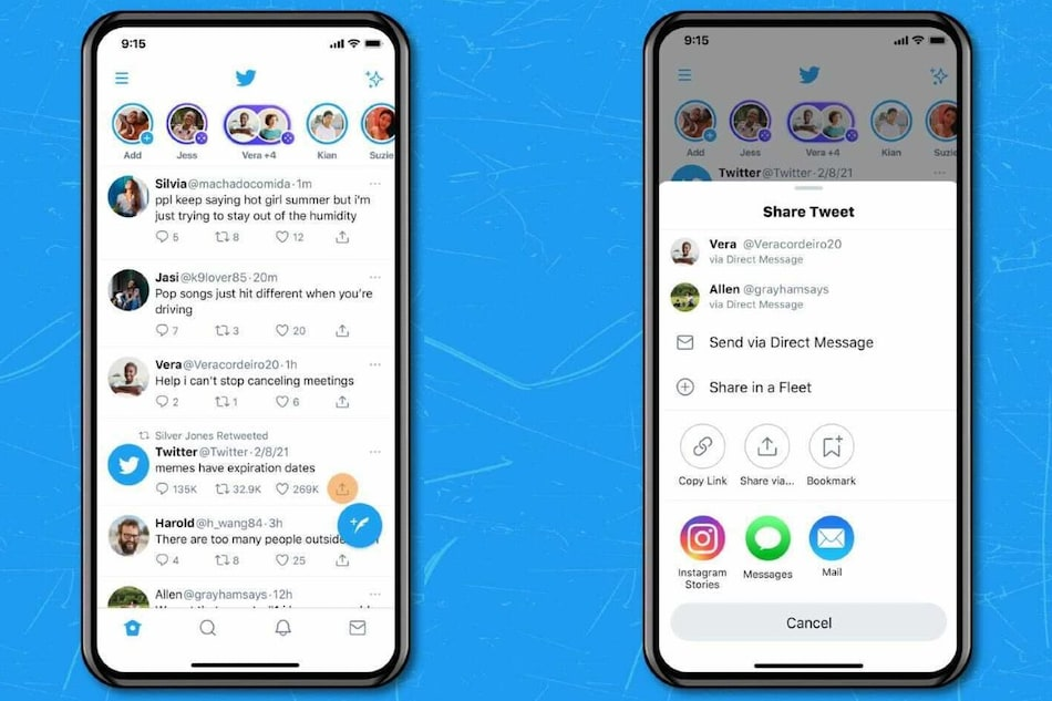 Twitter for iOS Now Allows Users to Share Their Favourite Tweets on Instagram Stories