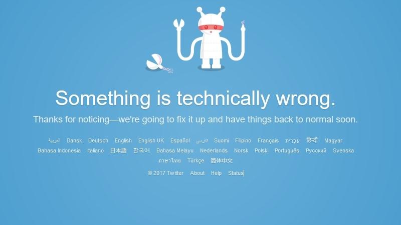 ट्विटर ठप, यूज़र को हो रही है परेशानी