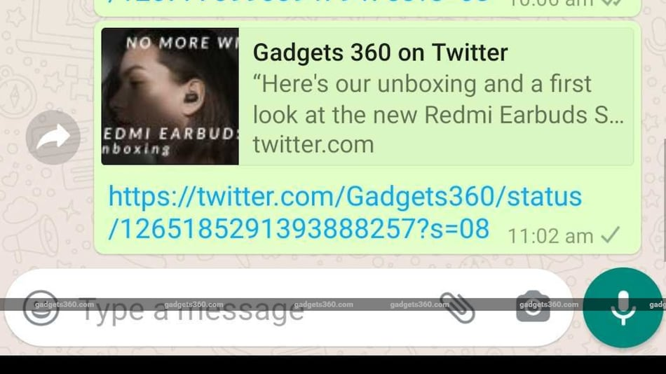 WhatsApp Responds to Twitter Link Preview Issue, Fix Released
