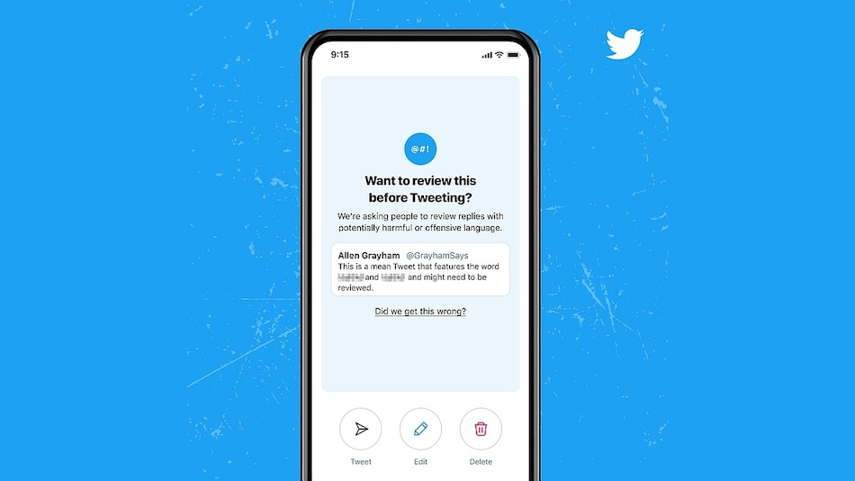 Twitter Will Now Prompt Users When They Reply With Offensive Language