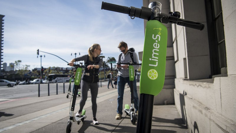 Uber Investment Deepens Ties With Scooter Startup Lime