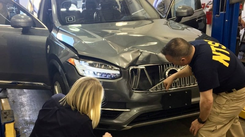 Uber Disabled Emergency Braking in Self-Driving Car That Killed Pedestrian: NTSB