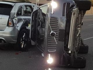 Uber Suspends Self-Driving Car Programme After Arizona Crash