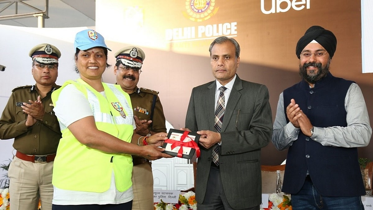 Uber, Delhi Police Partner to Integrate Himmat Safety App for Riders, Drivers