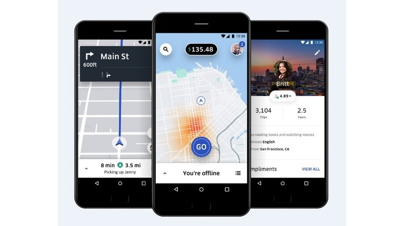 Uber gets into auto rentals and public transit
