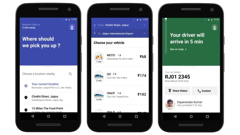 uber lite screenshots Uber Lite