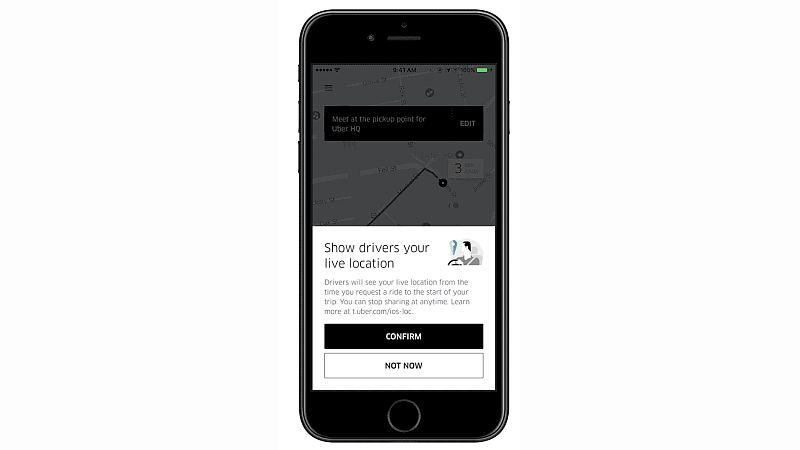 Uber adds live location sharing and more for easier pickups