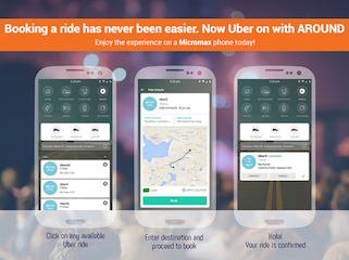 Uber and Micromax Sign 3 Year Deal; Uber App to Come Preloaded on Micromax Phones