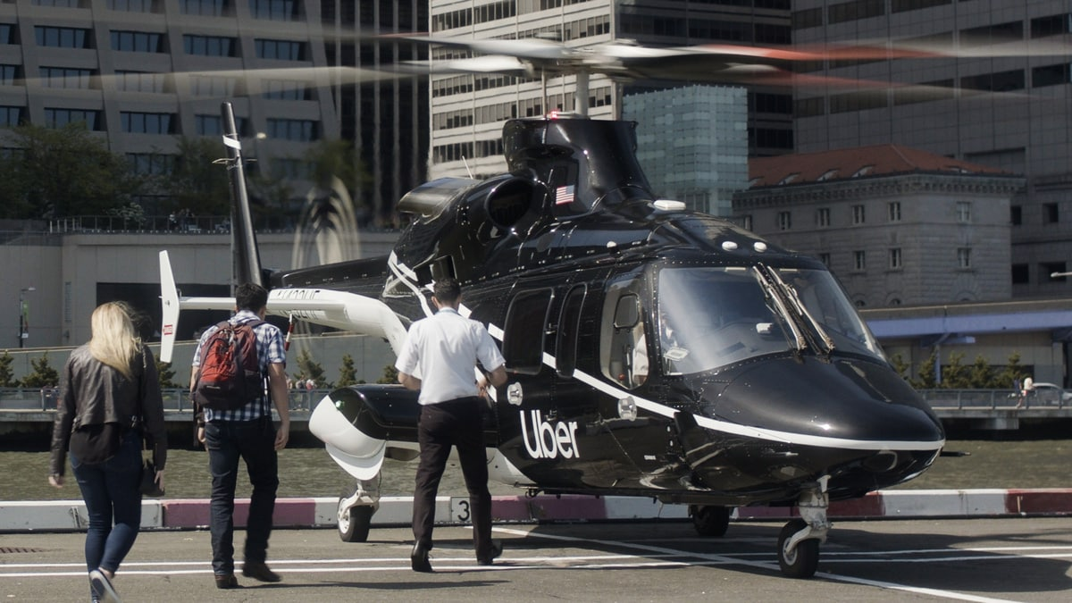 Uber's first helicopter rides set for New York