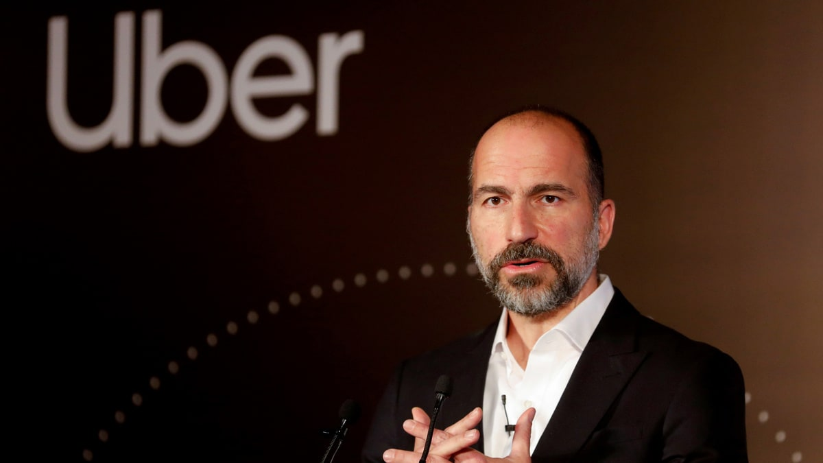 Uber Looks to Partner With Other Self-Driving Companies, CEO Dara Khosrowshahi Says