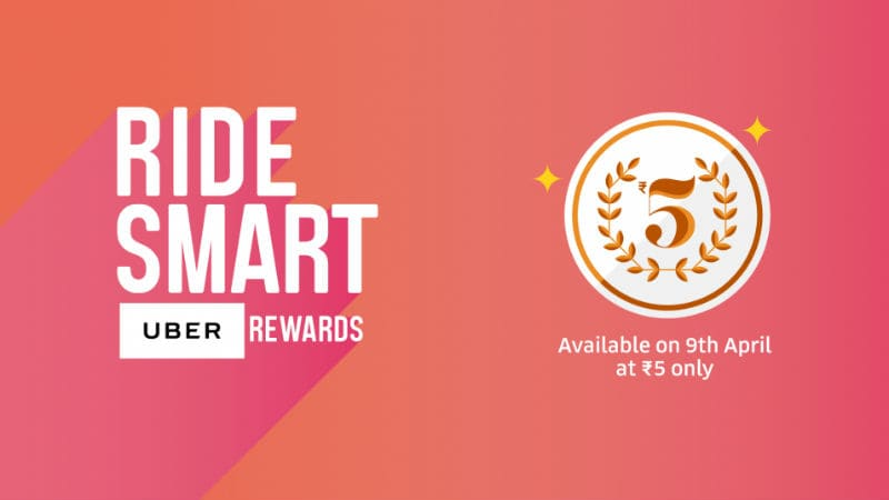 Uber India Launches Smartride Rewards to Offer Deals on Rides, Flights, and Movies