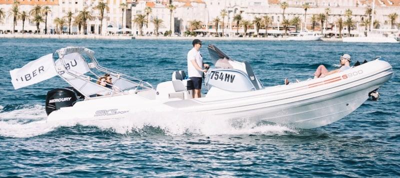 UberBOAT Speedboat Service Launched in Croatia