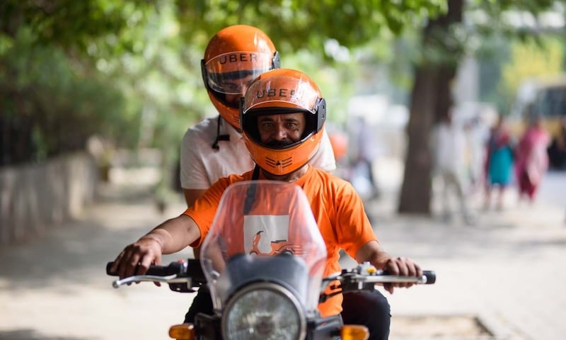 UberMOTO Bike-Sharing Service Launched in Noida, Ghaziabad