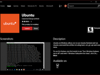 Ubuntu Linux Distro Now Available on the Windows Store: Here's How You Can Download and Install It