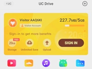 UC Browser Launches UC Drive in India, Offers 20GB Free Storage