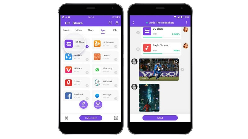 UC Share File Transfer App Launched for Android | Technology News