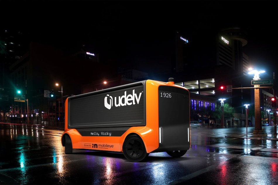 Intel to Supply Self-Driving Systems to Udelv for Delivery Trucks