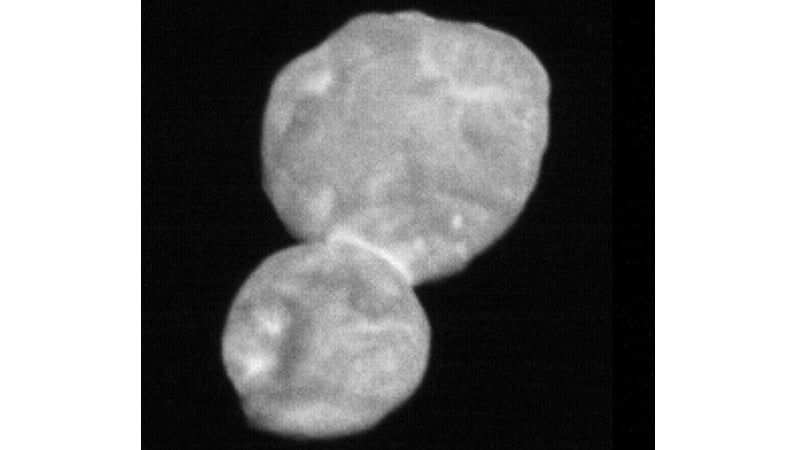 NASA's New Horizons Spacecraft Sends Back First Images of Ultima Thule, Looks Like a 'Snowman'