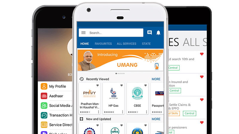 PM Modi Launches Umang App to Provide Multiple Citizen-Centric Services Under One Roof