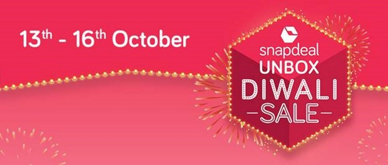 Snapdeal Unbox Diwali Sale Offers: Smartphones, Laptops, External Hard Drives, and Other Deals