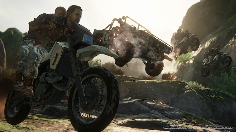 uncharted lost legacy motorcycle ps4 pro uncharted_lost_legacy