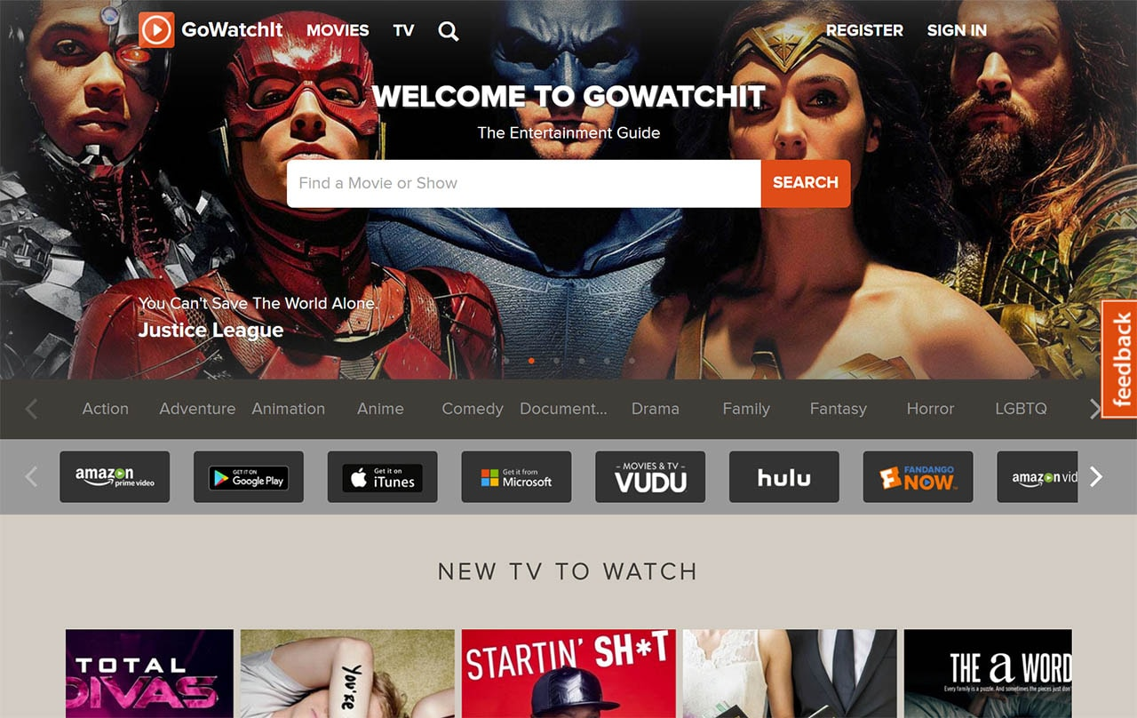 universal search gowatchit GoWatchIt