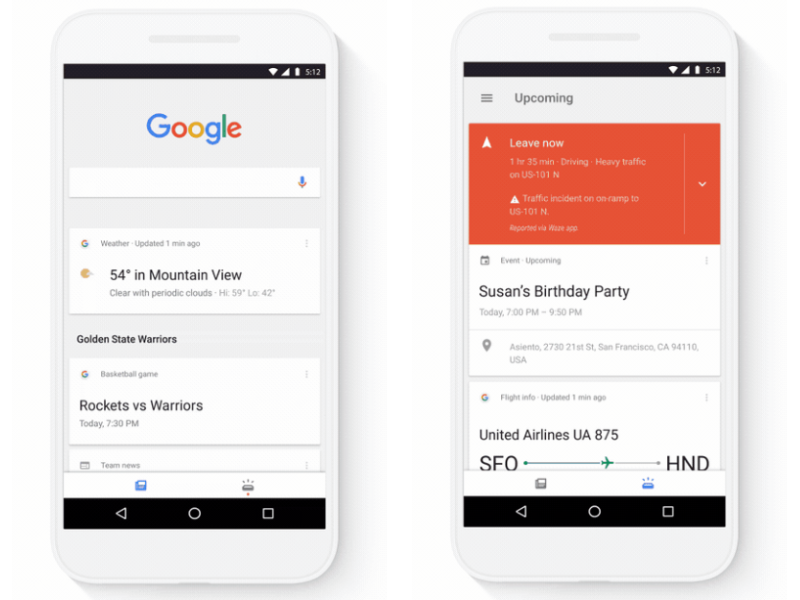 Google App Gets Split Into Upcoming and Feed Tabs